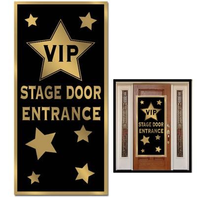 Partydeko VIP Eingang Türposter