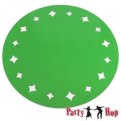 Platzdecken Sterne grün