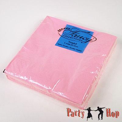 Papierservietten rosa 25 Stück