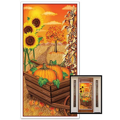 Türposter Herbst Ernte