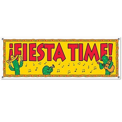 Partydeko Banner Fiesta Time