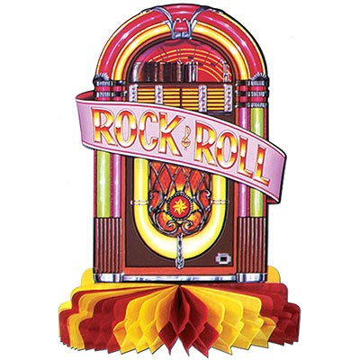 Tischdeko Jukebox Rock and Roll