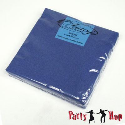 Papierservietten dunkelblau 25 Stück