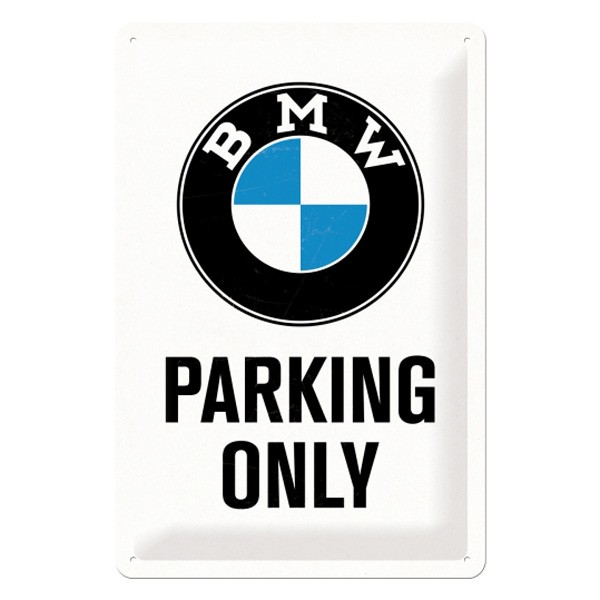 BMW Parking Only Blechschild 20x30cm
