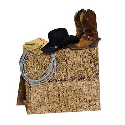 Tischdeko Country Western Cowboy