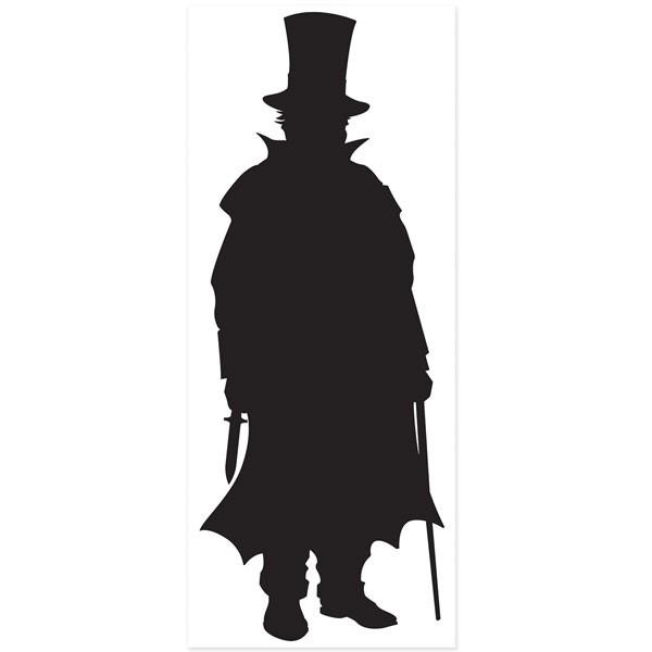Folienposter viktorianischer Mörder Schurke