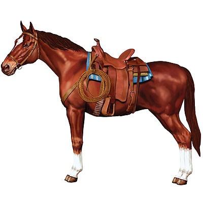 Partydeko Western Pferd