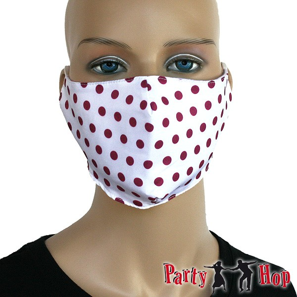 Mund Nasen Maske Pünktchen
