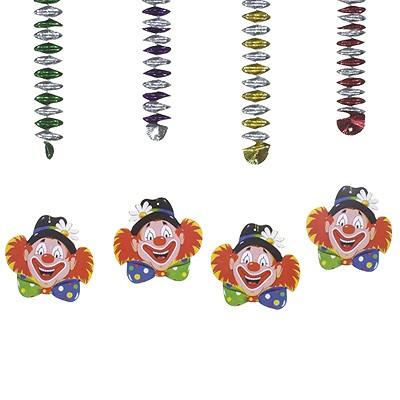 Rotor-Spiralhänger Clown