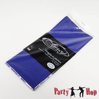 Plastik-Tischdecke dunkelblau