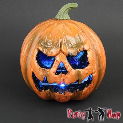 Künstlicher Halloween-Dekokürbis
