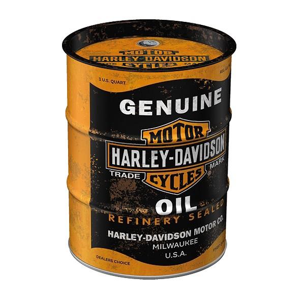Spardose Harley Davidson Ölfaß