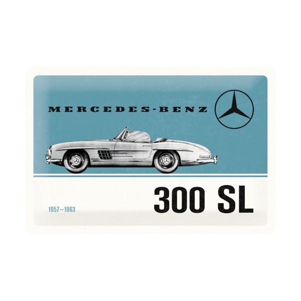 Blechschild Mercedes Benz 300 Sl 30x20 Cm