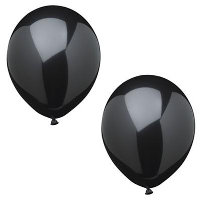 Luftballons schwarz 10er