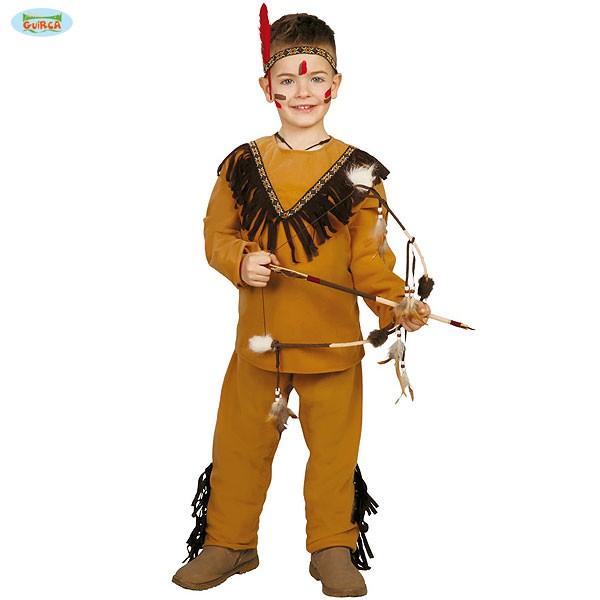 Kinder Karnevalskostüm Indianer 5-6 Jahre