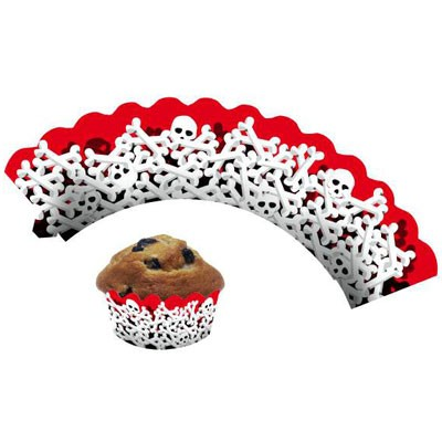 Cup Cake Banderolen Knochen
