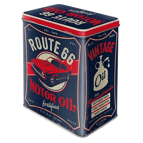 Route 66 Motor Oil Vorratsdose