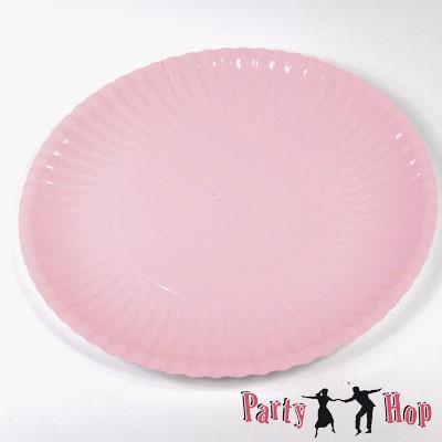 Pappteller rosa