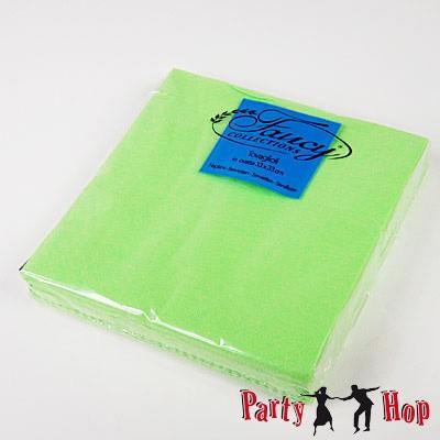 Papierservietten hellgrün 25 Stück