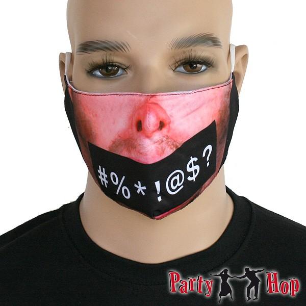 Mund Nasen Maske Zensur