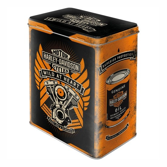 Blechdose Harley-Davidson Wild at Heart
