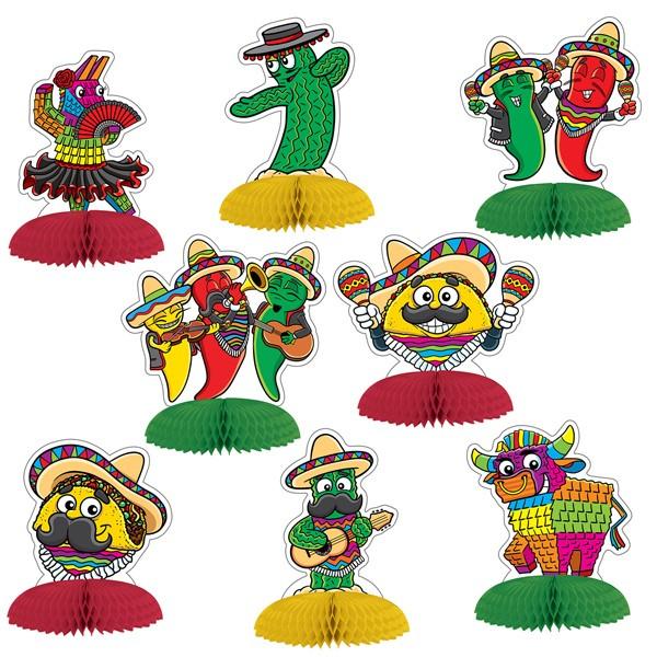 Tischdeko Fiesta Mexiko 8er