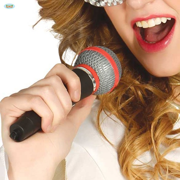 Kunststoff Mikrofon Attrappe