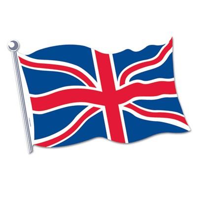 england partydeko britische flagge aus karton wanddeko union jack gro britannien mottoparty artikel. Black Bedroom Furniture Sets. Home Design Ideas
