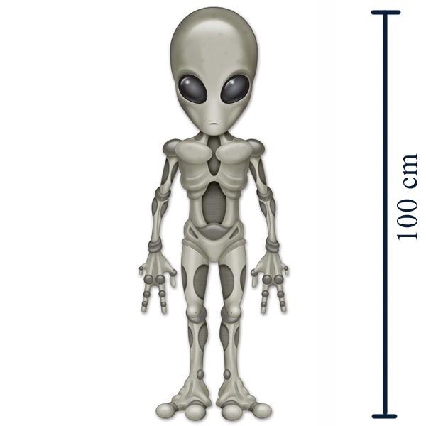 Dekofigur Alien 100 cm