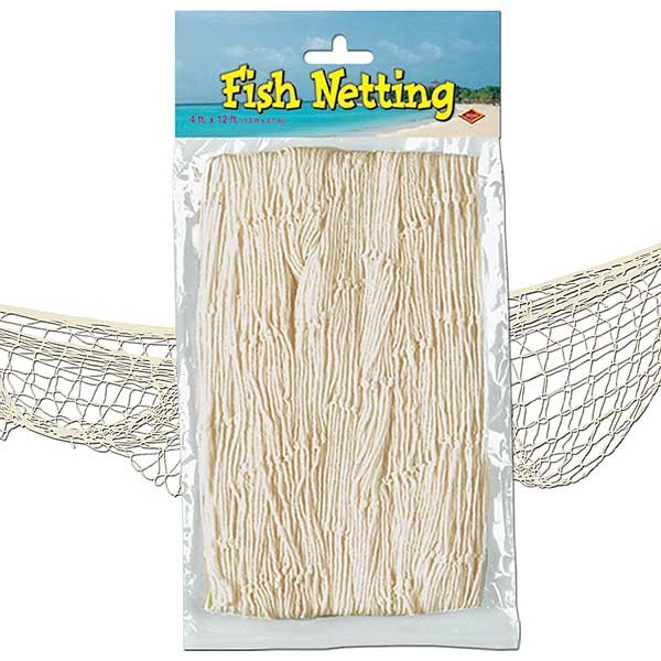Deko-Fischernetz naturfarben