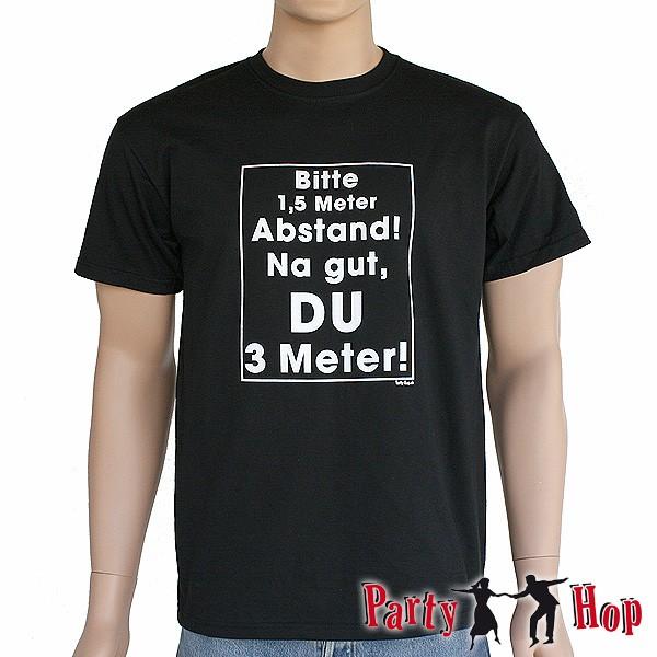 T-Shirt Bitte Abstand