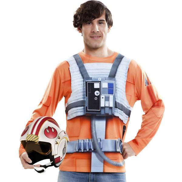 Langarm-Shirt Star Wars Luke Skywalker L