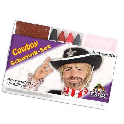Schminke Schminkset Cowboy Fries Motto Party Karneval Theater