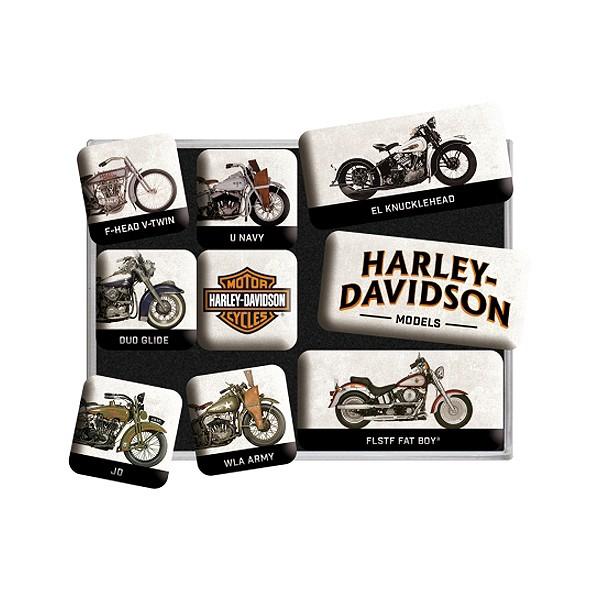 Magnetset Harley Davidson Model Chart