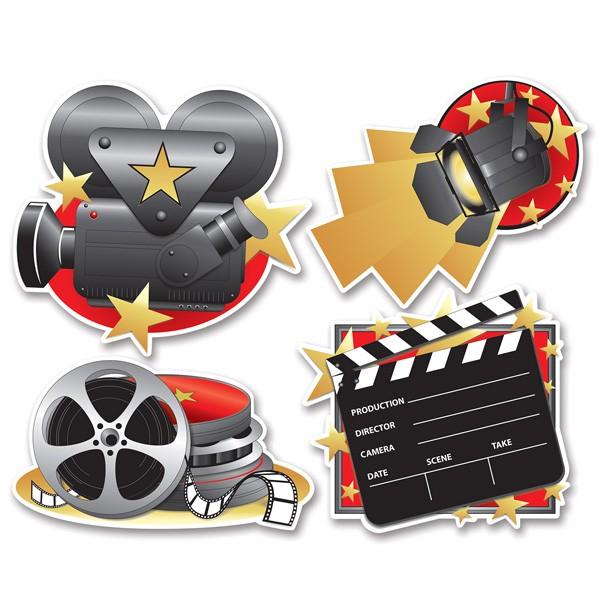 Hollywood Partydeko Filmstudio