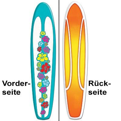 Partydeko Surfboard Surfbrett