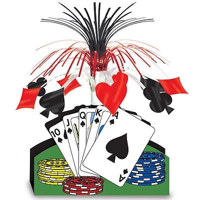 Tischdeko Poker