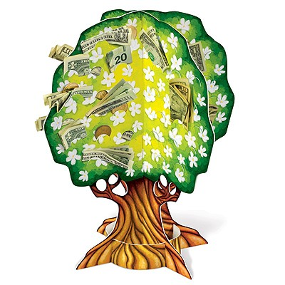 Geldbaum Geldgeschenk Baum Fur Hochzeit Geburtstag Jubilaum Etc