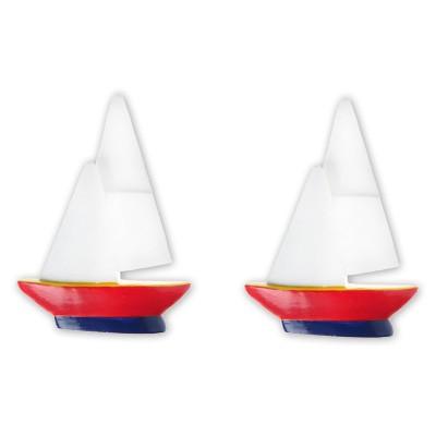 Platzkartenhalter Segelboot