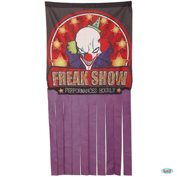Halloweendeko Freak Show Clown