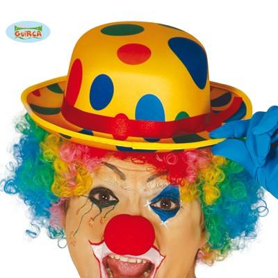 Clownshut bunt Punkte