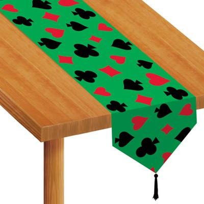 Tischläufer Casino Poker