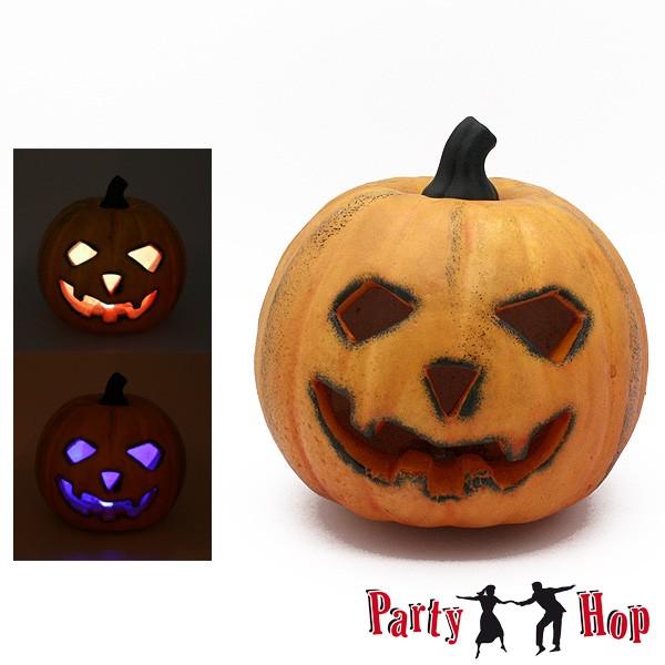 Halloweenkürbis mit Licht 16cm