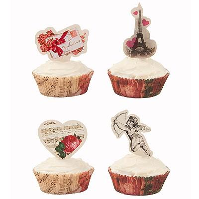 Cup Cake und Muffin Set Love Talk