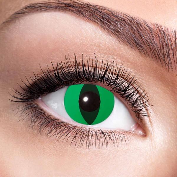 Farbige Kontaktlinsen ohne Stärke Anaconda