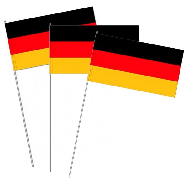 Papierfahnen Deutschland Papierfähnchen Flagge Fahne