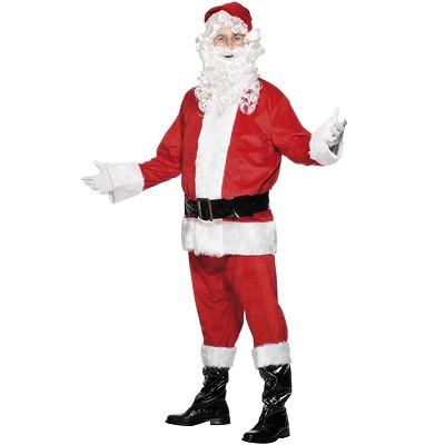 Weihnachtsmann Kostüm Set L