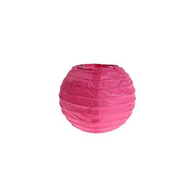 Partydeko Papierlampions pink klein 10cm