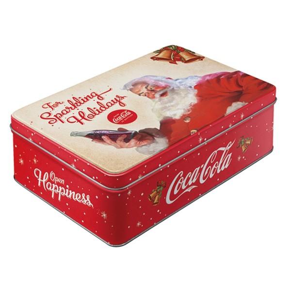 Vorratsdose Coca Cola Weihnachtsmann