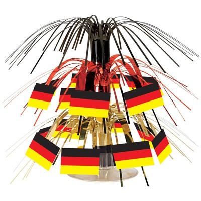 Tischdeko Mini-Flaggen Deutschland
